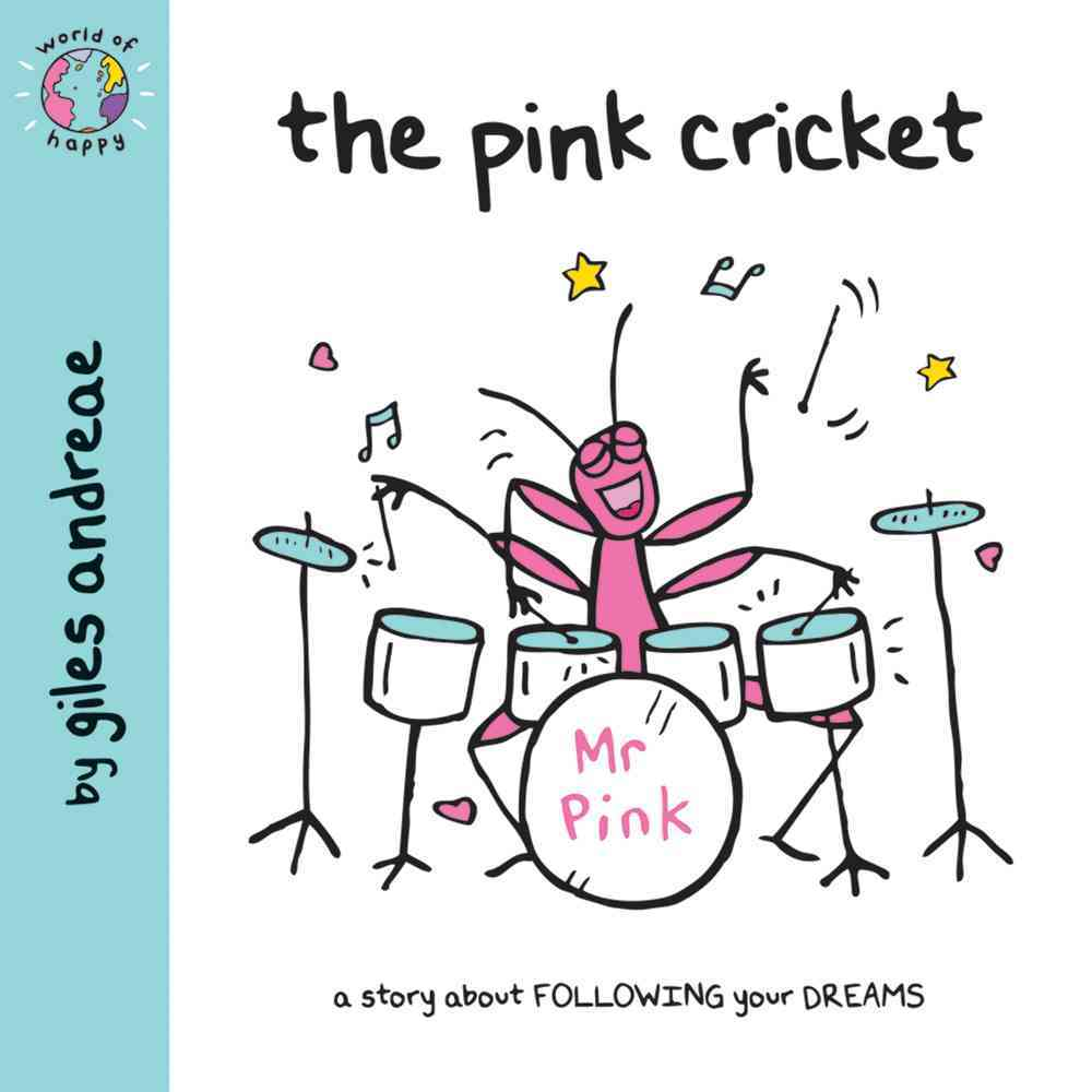 The Pink Cricket By Andreae, Giles/ Cronin, Janet (ILT)